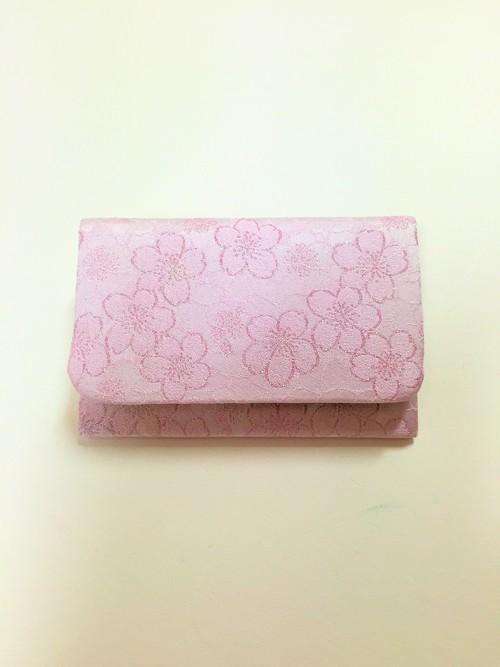 名刺入れ 桜の紋様