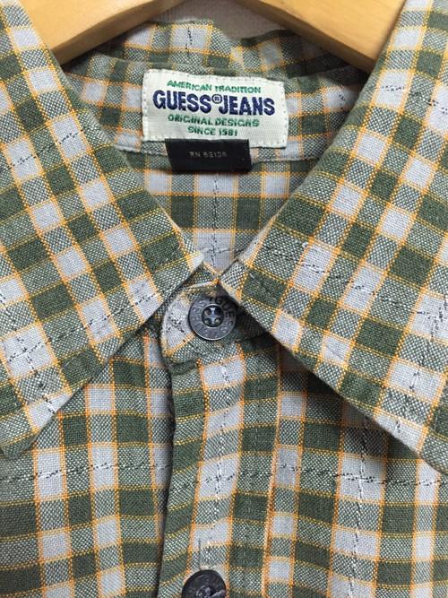 90's GUESS JEANS cotton shirt