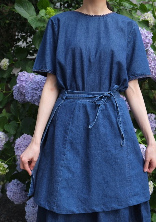 sa a i denim two-piece.