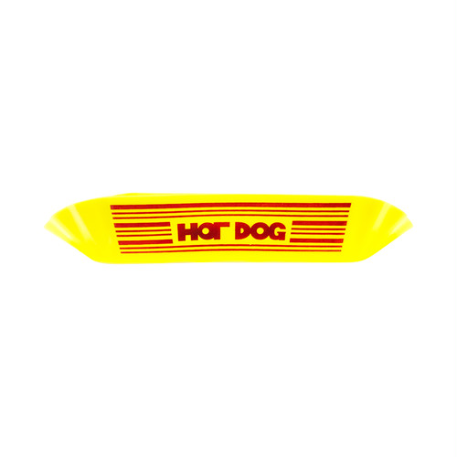 HOT DOG Plastic Plate