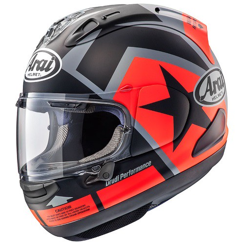 ARAI RX-7X MAVERICK graphic