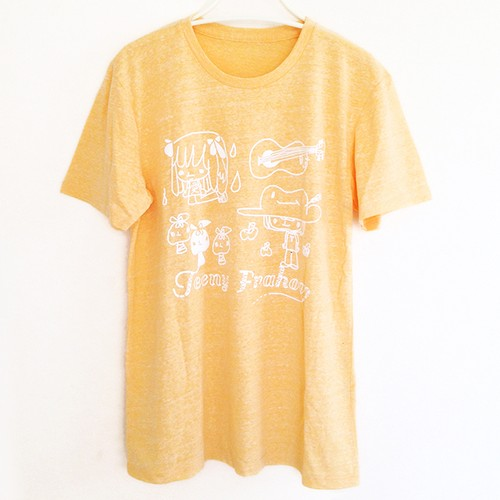 Crew Neck T ( YELLOW )