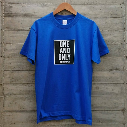 ONE AND ONLY T-shirts col.BLUE
