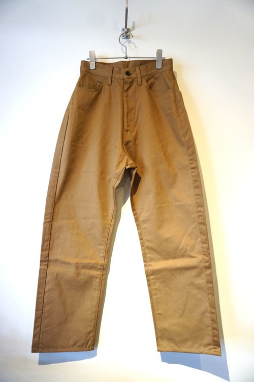 CHINO 5POCKET PANTS [ CAMEL ]