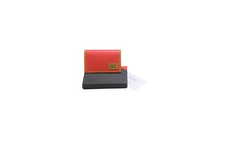 """×MISAWA & WORKSHOP CARD CASE """"HERMES LEATHER PINK"""""""
