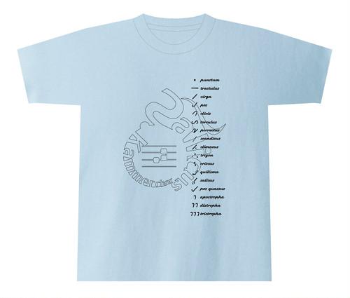 ネウマ(ザンクトガレン系)Tシャツ
