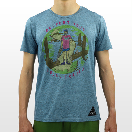 STAMP RUN & CO  / DAILY TEE (Support Your Local Trails)
