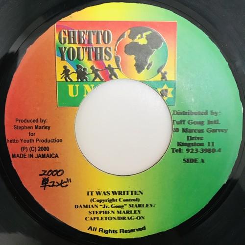 """Damian """"Jr. Gong"""" Marley & Stephen Marley & Capleton/Drag-on - It Was Written【7-10931】"""