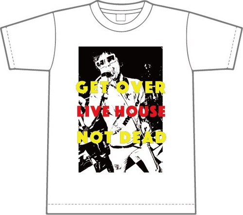 [LIVE HOUSE NOT DEAD Tシャツ WHITE ]