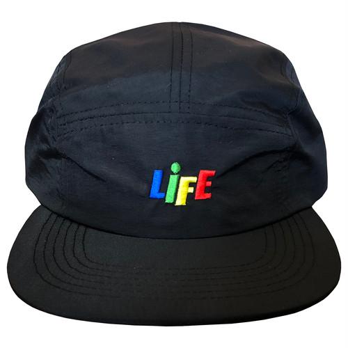 CANDY LOGO NYLON JET CAP / LIFEdsgn