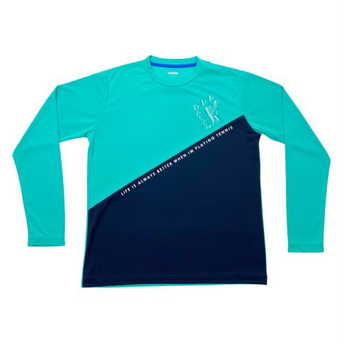 RB034メンズプラクティス長袖Tシャツ