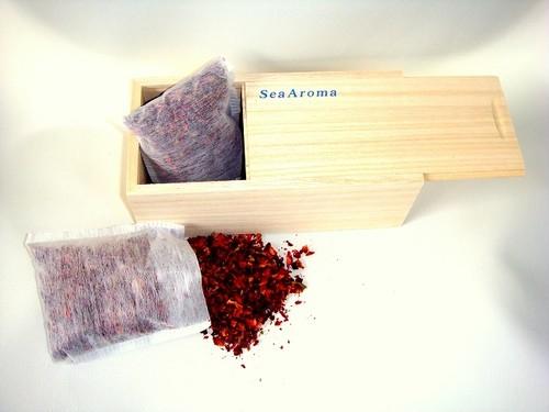 SeaAromaオリジナル aromaBOX 詰め替え用ローズ1袋