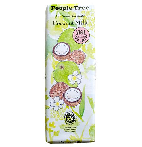 PeopleTree(ピープルツリー)チョコレート ココナッツミルク 50g(ヴィーガン対応)