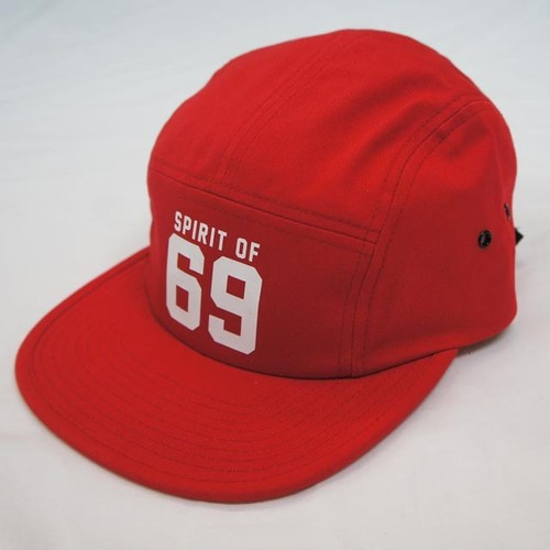 69 COTTON JET CAP   RED