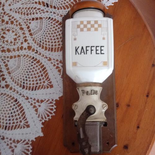 2月 ドイツ PEDE ヴィンテージ 壁掛けコーヒーミル