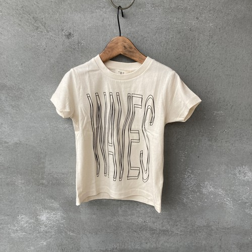 THE BIBIO PROJECT WAVES T-SHIRT FOR KIDS