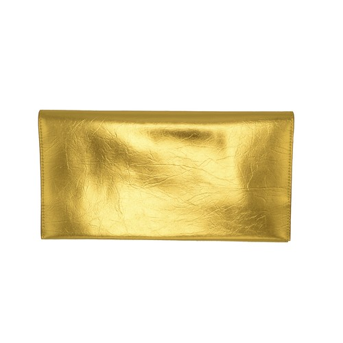 TIN BREATH Clutch bag Gold