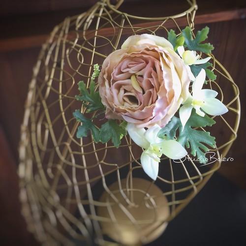 「ペーター」コサージュ髪飾り アーティフィシャルフラワー 造花