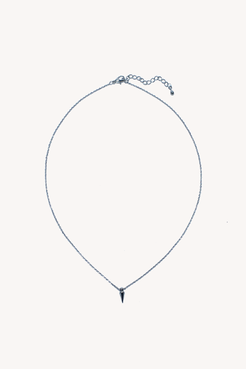 urban outfitters small spike charm neclace
