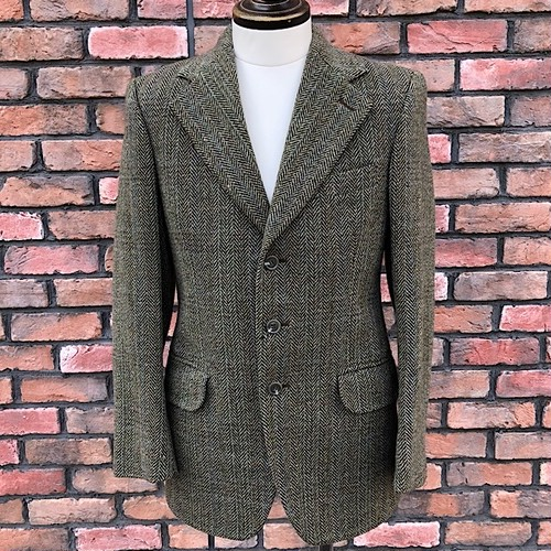 1970s Dunn&Co Tweed Jacket Made in Great Britain 92REG