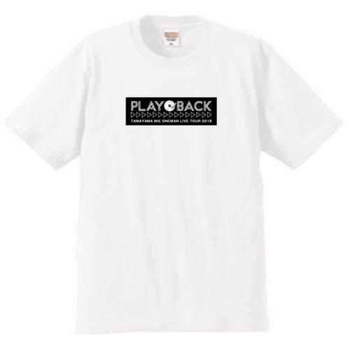 玉山ミイ LIVE グッズ PLAYBACK Tシャツ