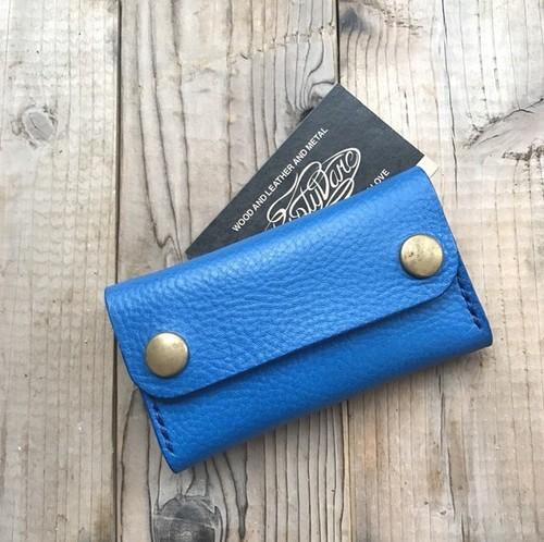 カードケース(名刺入れ):ブルー