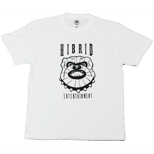 [T Shirt] HIBRID ENT. BIG LOGO T Shirt (WHITE)