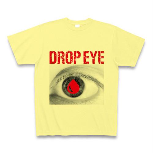 ASH DROP ドロップアイプリントTシャツ(ライトイエロー)