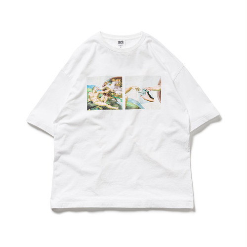 TIGHTBOOTH PASS THE PIE TEE WHITE