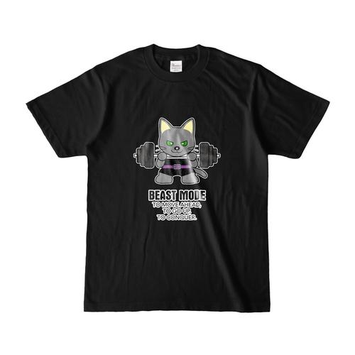 Tシャツ メンズ【BEASTMODE ロシアンブルー】