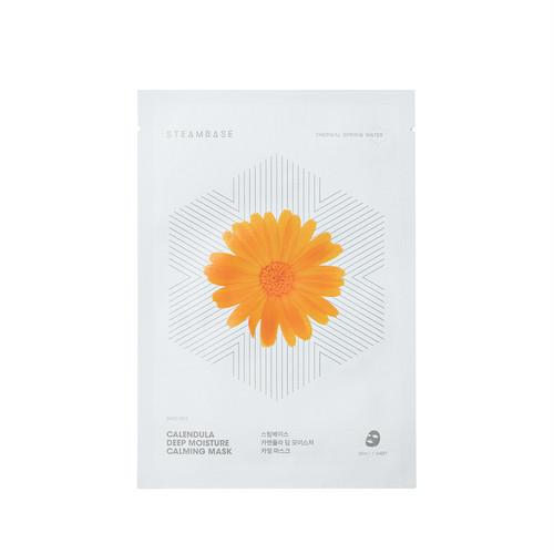【正規輸入/国内発送】STEAMBASE カレンデュラ ディープモイスチャー カーミングマスク(10枚入り)
