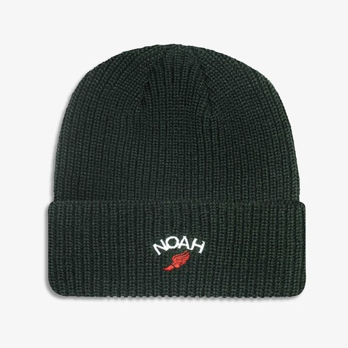 Winged Foot Logo Beanie(Forest Green)