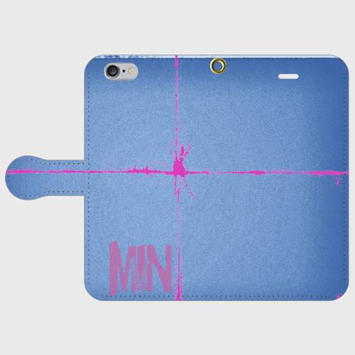 iPhone6/6s用手帳型ケースMNIV denim