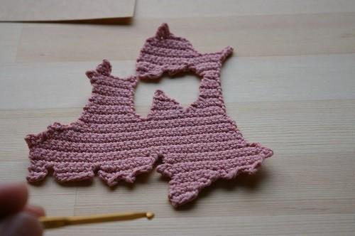 編み図 青森コースター DIY Knitting Pattern Aomori Coaster