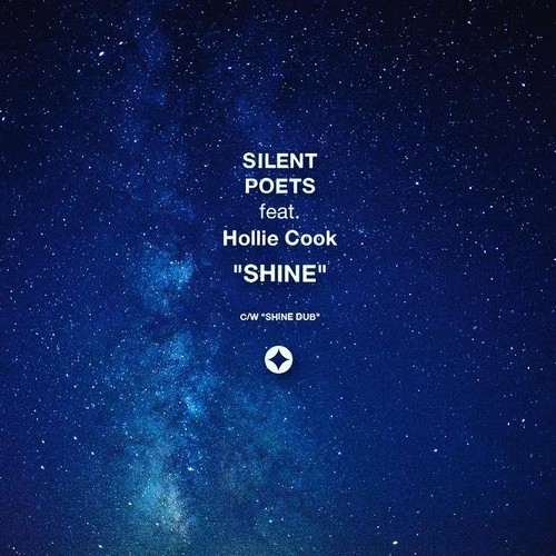 (7inch)SILENT POETS feat. Holie Cook 「SHINE」