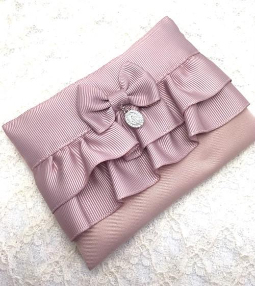 ★CHARITY MARCHE 2018★奇跡のメダイつきフランス製ティッシュケース(ピンク)
