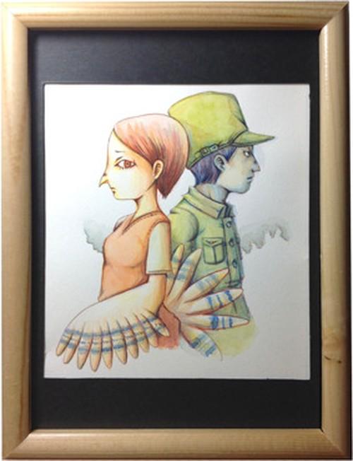 軍人さんと鳥人さん(ムライ)