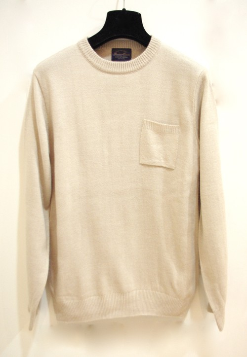 Beige Pocket Knit