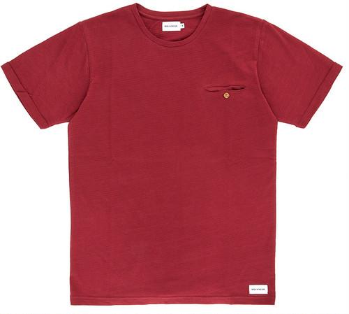 Bask in the Sun Tシャツ(ボルドー)Ref.4042
