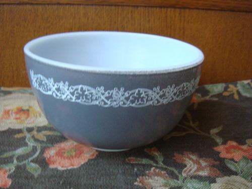 JAJ Pyrex Gray Small Bowl 1500yen
