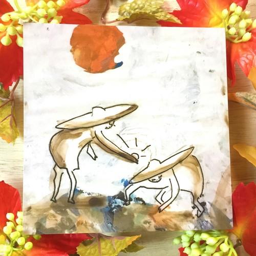 絵画 インテリア アートパネル 雑貨 壁掛け 置物 おしゃれ イラスト 貝殻 ロココロ 画家 : mycof 作品 : 貝殻をあげる