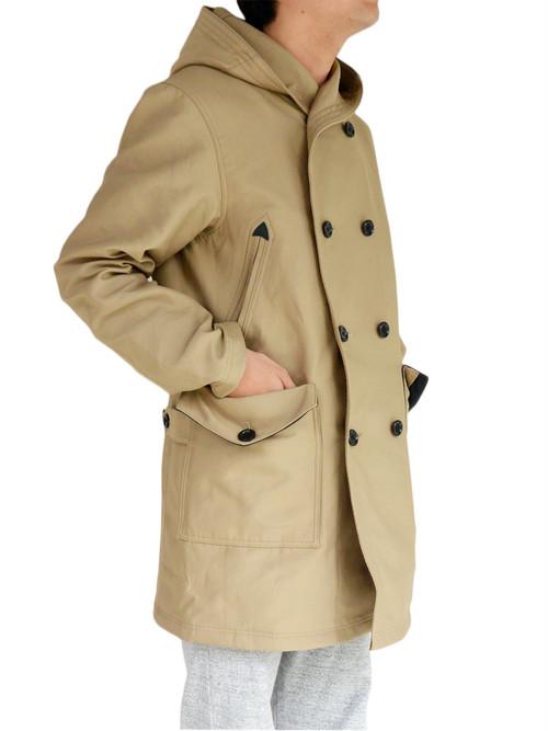 Jackman ジャックマン JM8511 Spectator Coat スペクテイターコート【Beige×Black】
