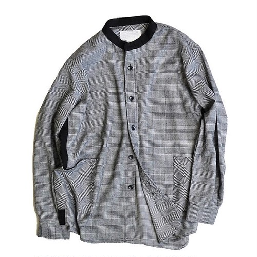 "Kelen / ケレン | SIDE LINE BAND COLLAR SHIRT ""BILLY"""