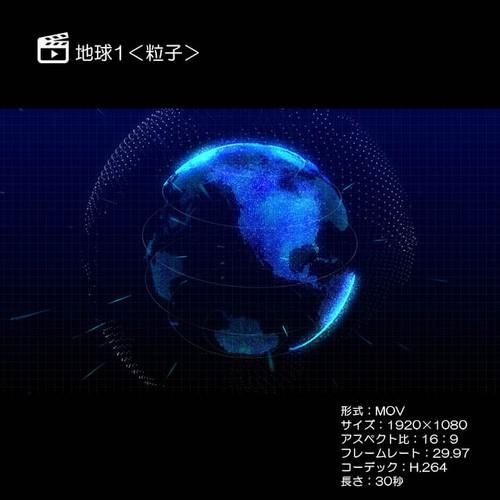 地球1<粒子>