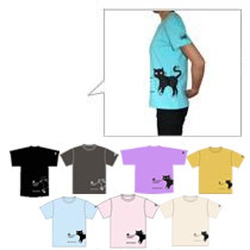 ラップTシャツ [猫] 【メンズSサイズ】Cat Wrap T-shirt [S Size]