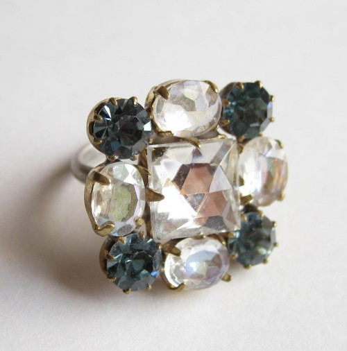 TheDelight antique Czech stone ring(アンティーク チェコ ストーン リング)⑦