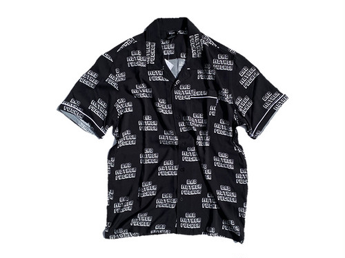 HUF|PULP FICTION BAD MF WOVEN TOP BLACK