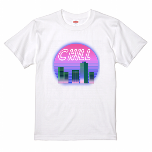 ●NEW!● City Sunset Tシャツ white