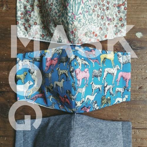 MOG MASK / SS・S【全4サイズ】 ~ フィルターポケット+ノーズワイヤー付き~