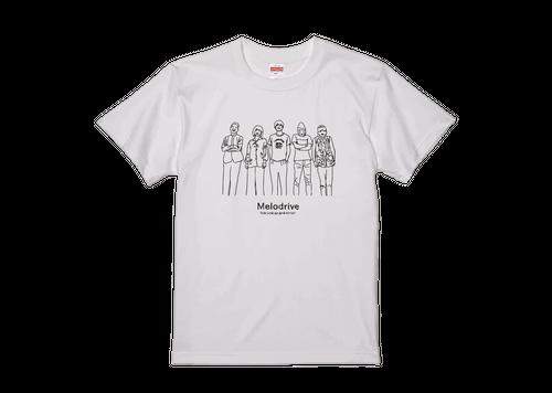 Melodrive Tシャツ(ホワイト)